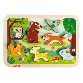 Puzzle Forêt Janod