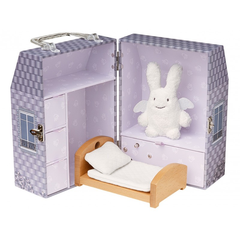 maison musicale ange lapin trousselier. Black Bedroom Furniture Sets. Home Design Ideas