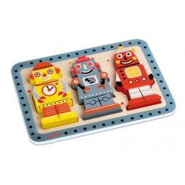 Puzzle Robots Janod