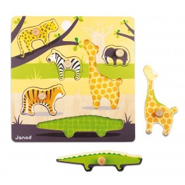 Puzzle emboitement savane Janod