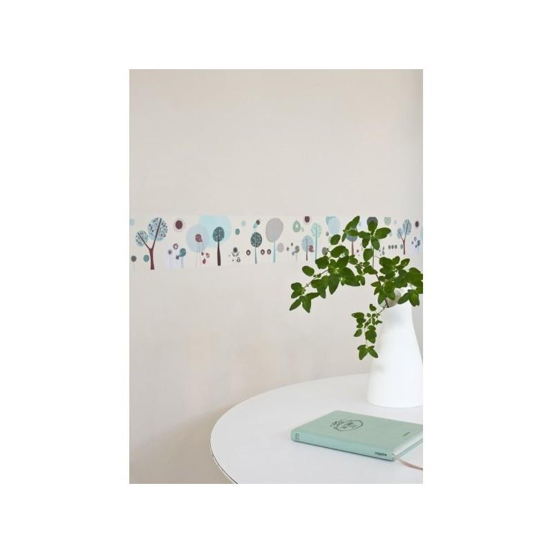 frise adh sive murale terre. Black Bedroom Furniture Sets. Home Design Ideas