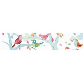 Frise Adhésive Les Oiseaux d'Abbie-Rose