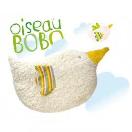 Coussin de Chaleur Bio (épeautre) Oiseau-Bobo