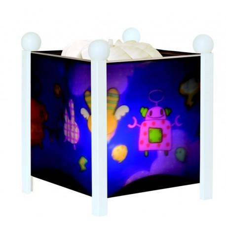 lampe magique robots trousselier. Black Bedroom Furniture Sets. Home Design Ideas