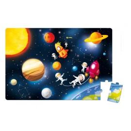 Malette Floor Puzzle Géant Galaktic - 36 pcs-Janod