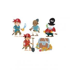 Stickers Enfants Personnages Pirates