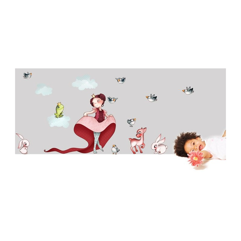 Sticker Princesse 1 Stickers Fille Emmanuelle Colin