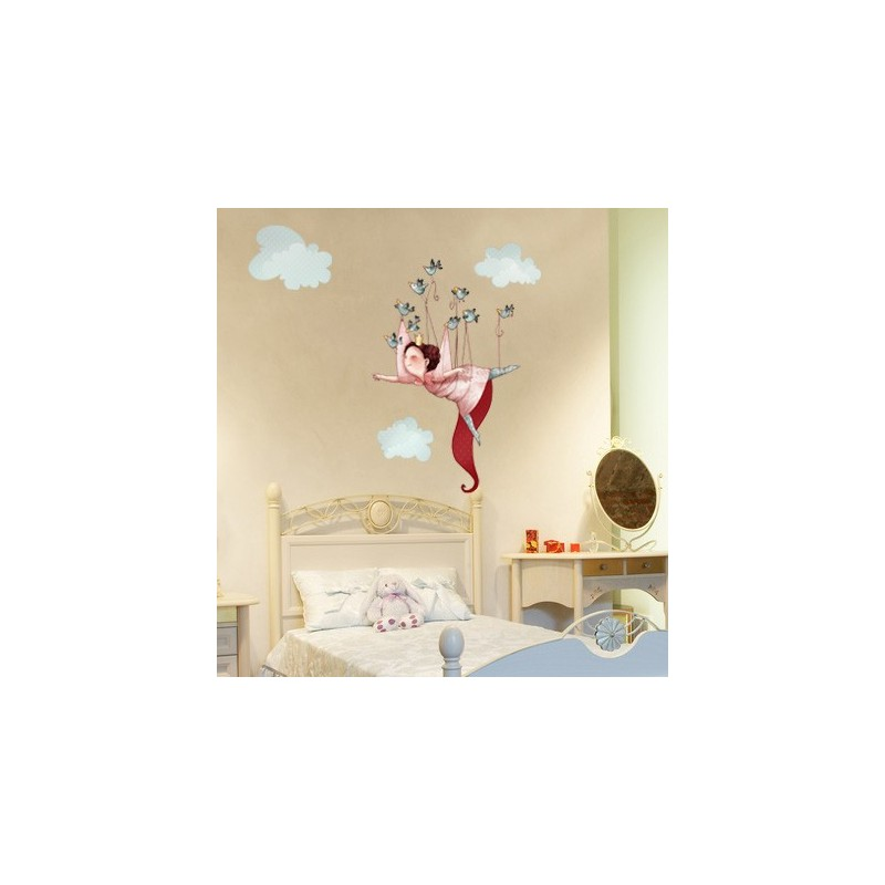 Stickers princesse 3 chambre fille - Tickers chambre fille princesse ...