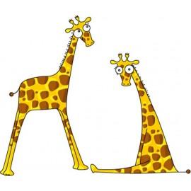 Sticker Messieurs les Girafons par Série-Golo