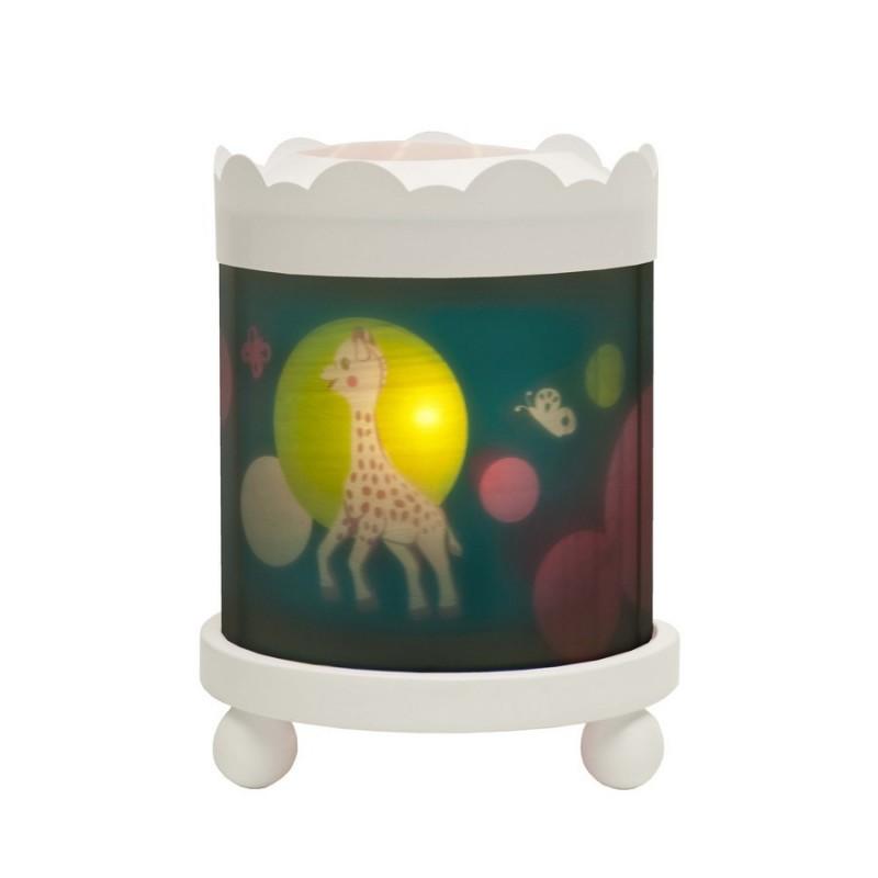 lanterne man ge magique sophie la girafe trousselier. Black Bedroom Furniture Sets. Home Design Ideas