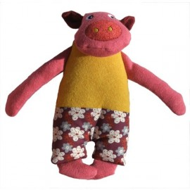 Doudou Bio Cochon in the pocket