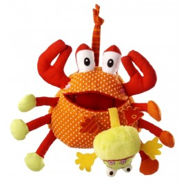 Oscar le Crabe gourmand Lilliputiens
