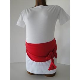 Bandeau de grossesse Rouge Miss Lalie