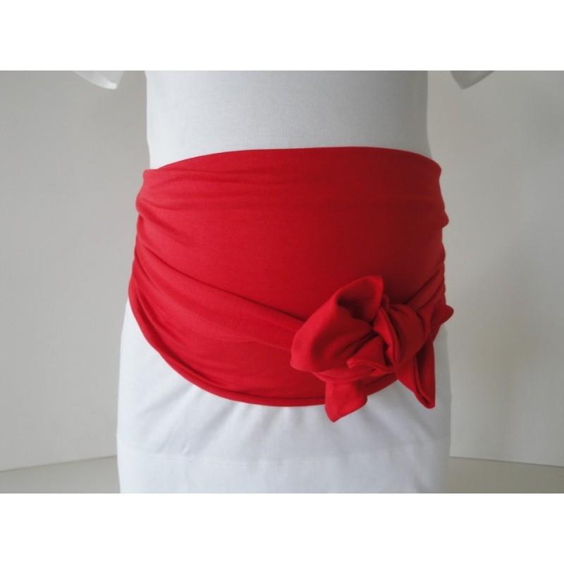 bandeau de grossesse rouge miss lalie. Black Bedroom Furniture Sets. Home Design Ideas