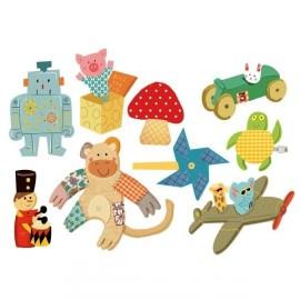 """Sticker """"Les jouets Rétro Garçon"""""""