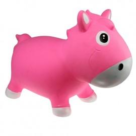 Harry le poney sauteur rose et blanc Kidzzfarm
