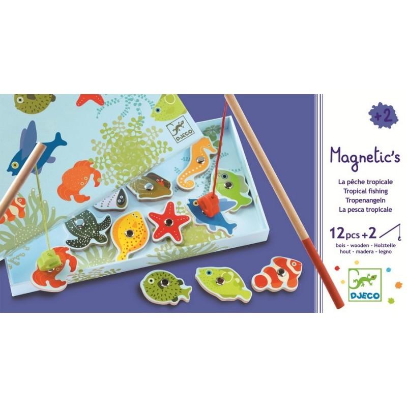 Jeu de pêche magnétique Barbapapa jouet et cie : des jeux et jouets pour