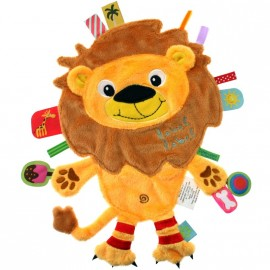 Doudou étiquettes Lion Friends Label Label