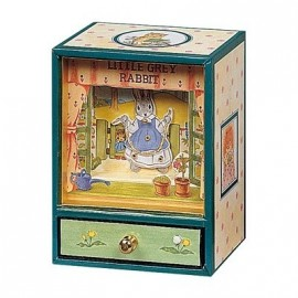 Dancing musical Little Grey Rabbit Trousselier
