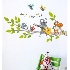 Stickers Une chanson douce Série-Golo