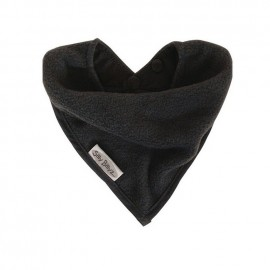 Bavoir de Dentition Anti-Taches Bandana Anthracite Silly Billyz