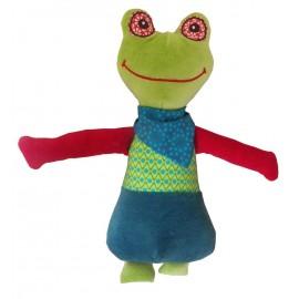 Doudou musical Charlie la grenouille