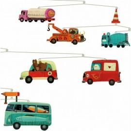 Mobile voiture Trafic Djeco