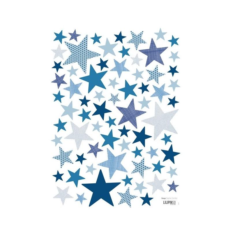 Stickers Etoiles My Superstar Motifs En Mer