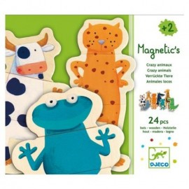 Crazy animaux Magnetic's Djeco