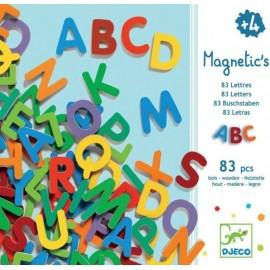 83 Lettres majuscules magnétiques Djeco