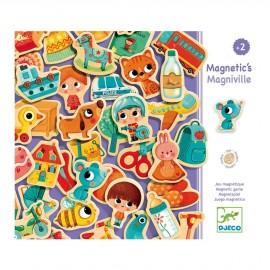 Jeu magnétique Magniville (42 pièces) Djeco