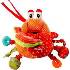 Oscar le Crabe Hochet à Pinces par Lilliputiens.