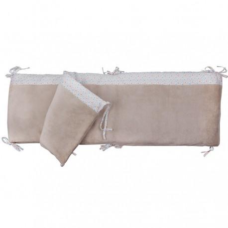 tour de lit b b et protection de parc etoiles trousselier. Black Bedroom Furniture Sets. Home Design Ideas