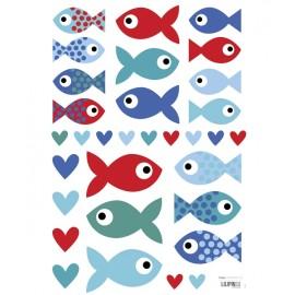 Sticker Petits poissons