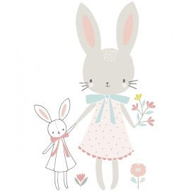 Sticker Demoiselle lapin Lilipinso