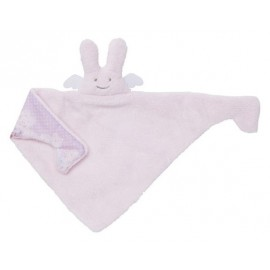Doudou Triangle Ange Lapin Rose Trousselier