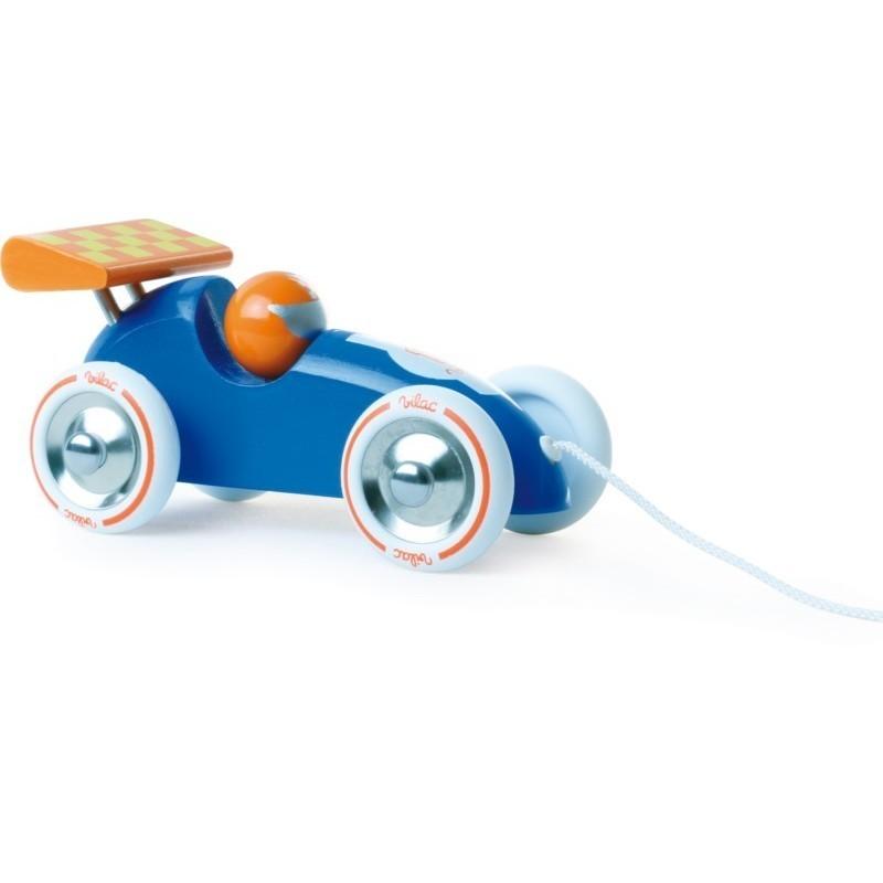 voiture trainer bleue et orange vilac. Black Bedroom Furniture Sets. Home Design Ideas