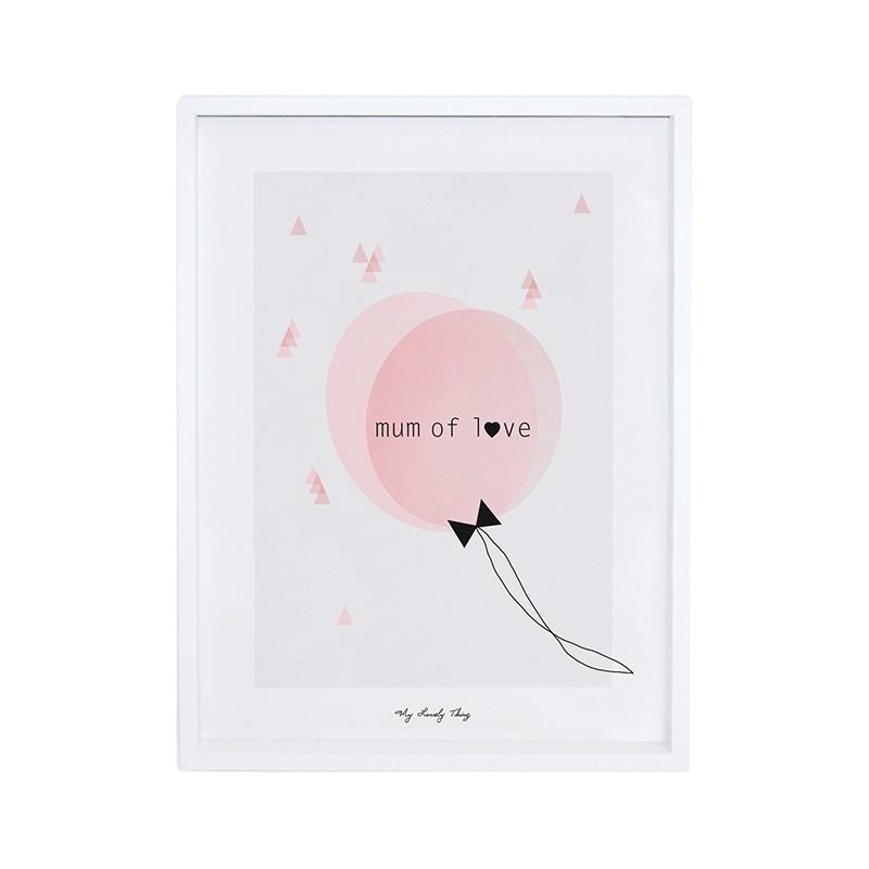 affiche pour chambre d39enfant lilipinso maman cherie With affiche chambre bébé avec envoyer des roses