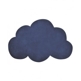 Tapis Nuage bleu indigo Lilipinso