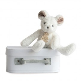 Souris blanche Sweety Couture Histoire d'Ours (24cm)