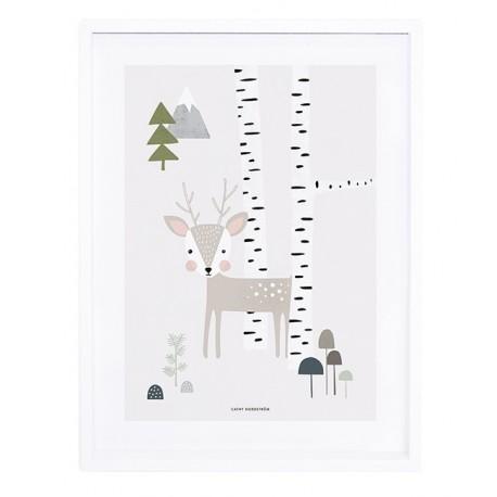 Affiche Pour Chambre D 39 Enfant Cerf Lilipinso
