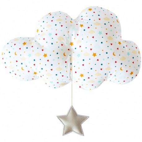 Grand nuage musical étoiles Trousselier