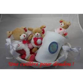 Panier naissance Chien fraise Lovely