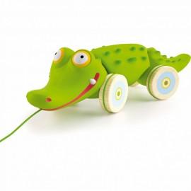 Croc'n'roll le crocodile Djeco