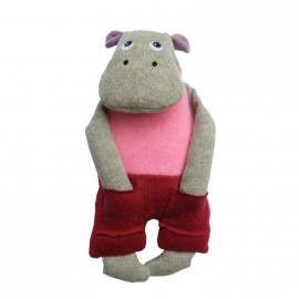 Hippo In The Pocket  doudou en Coton Bio