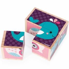Mes premiers cubes bébés animaux Janod