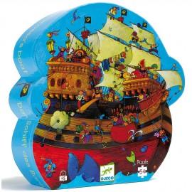 Puzzle Le bateau de Barberousse (54 pièces)