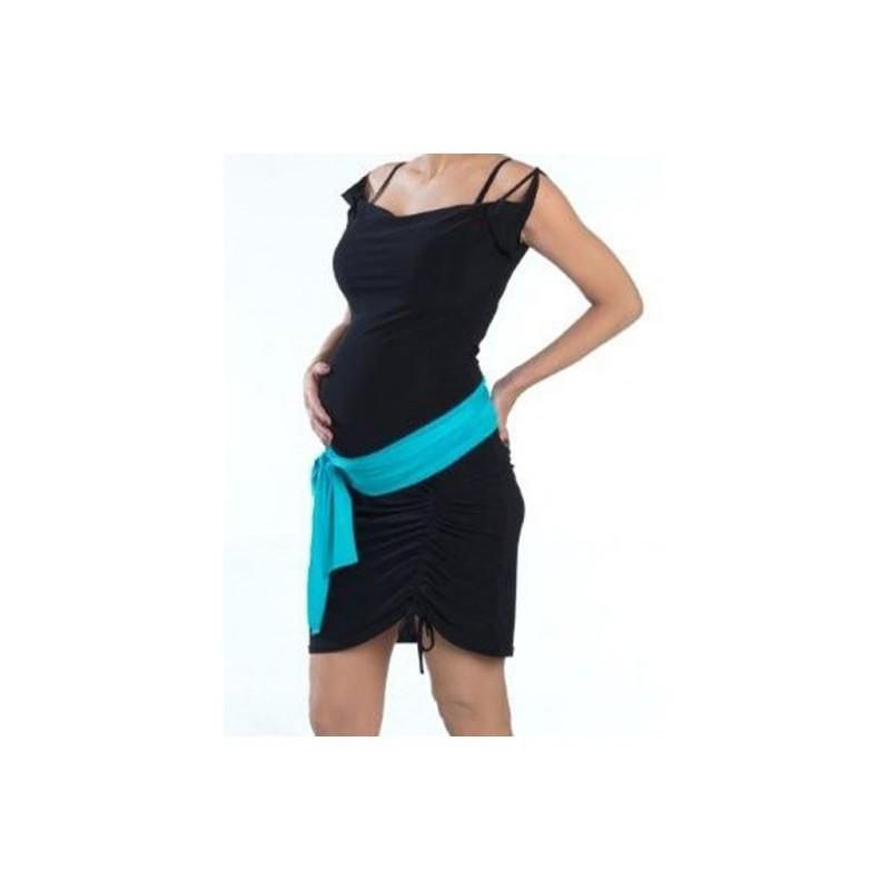 bandeau de grossesse turquoise miss lalie. Black Bedroom Furniture Sets. Home Design Ideas