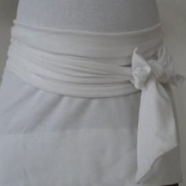 Bandeau de Grossesse Blanc Miss Laly