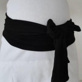 Bandeau de Grossesse Noir Miss Laly